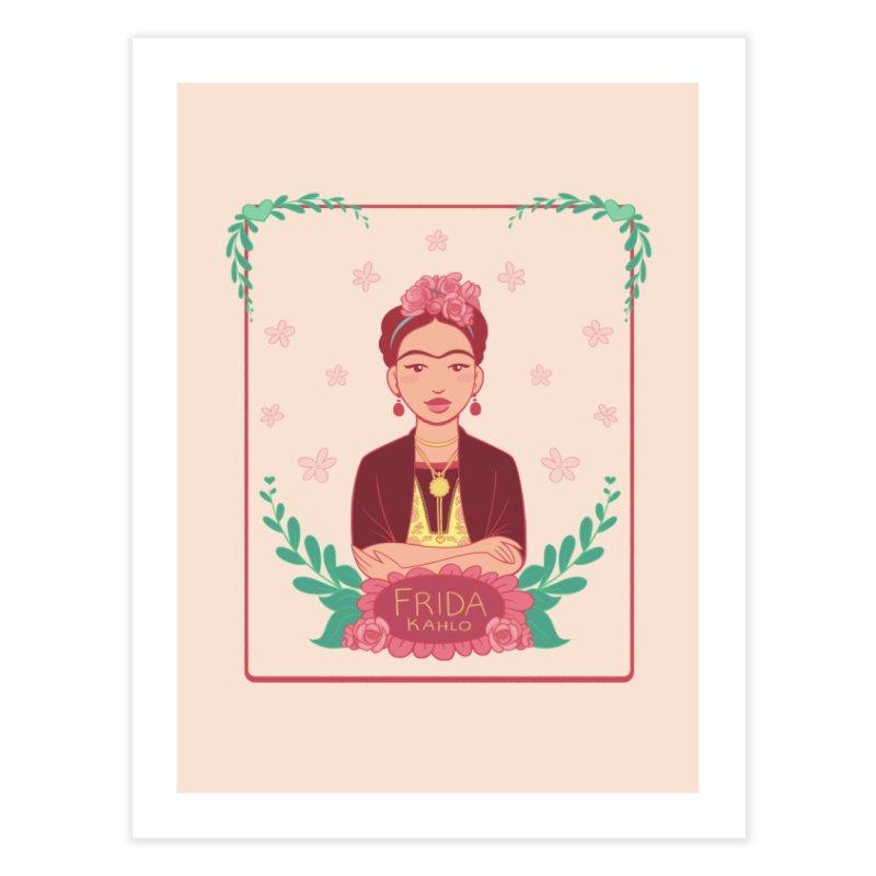 Frida Home Fine Art Print by satruntwins's Artist Shop