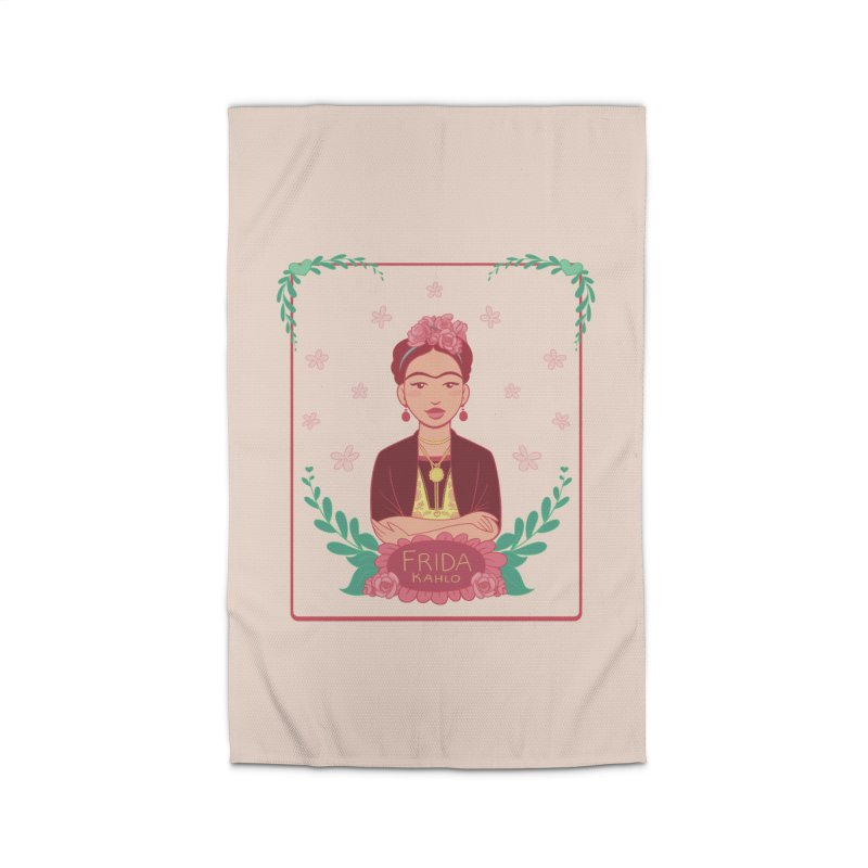 Frida Home Rug by satruntwins's Artist Shop