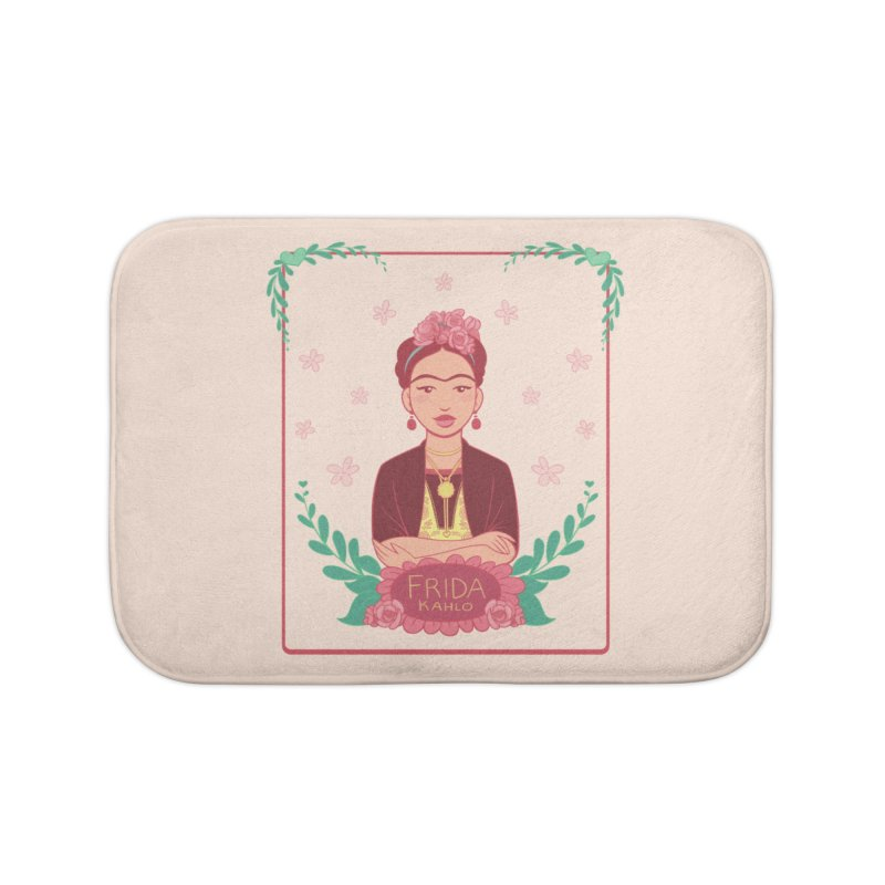Frida Home Bath Mat by satruntwins's Artist Shop