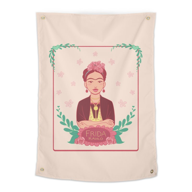 Frida Home Tapestry by satruntwins's Artist Shop