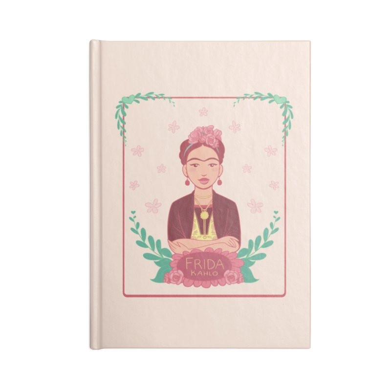 Frida Accessories Notebook by satruntwins's Artist Shop