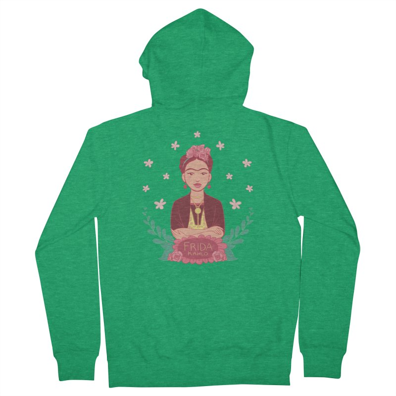Frida Women's Zip-Up Hoody by satruntwins's Artist Shop