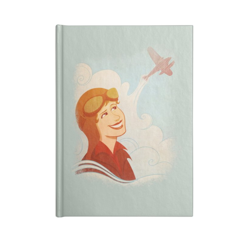Amelia Accessories Notebook by Saturn Twins