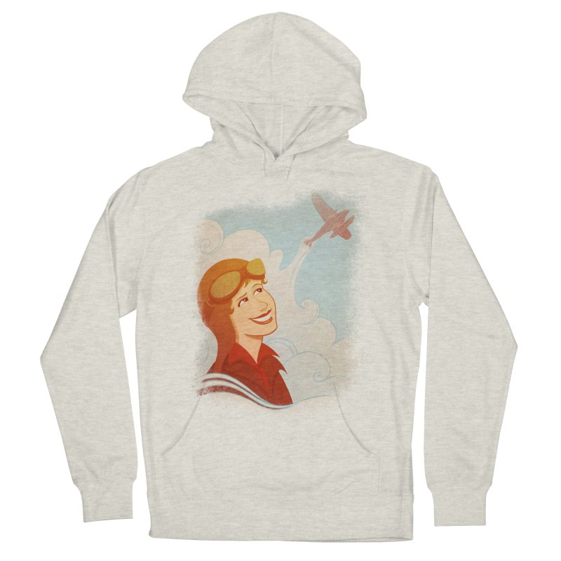 Amelia Women's Pullover Hoody by satruntwins's Artist Shop