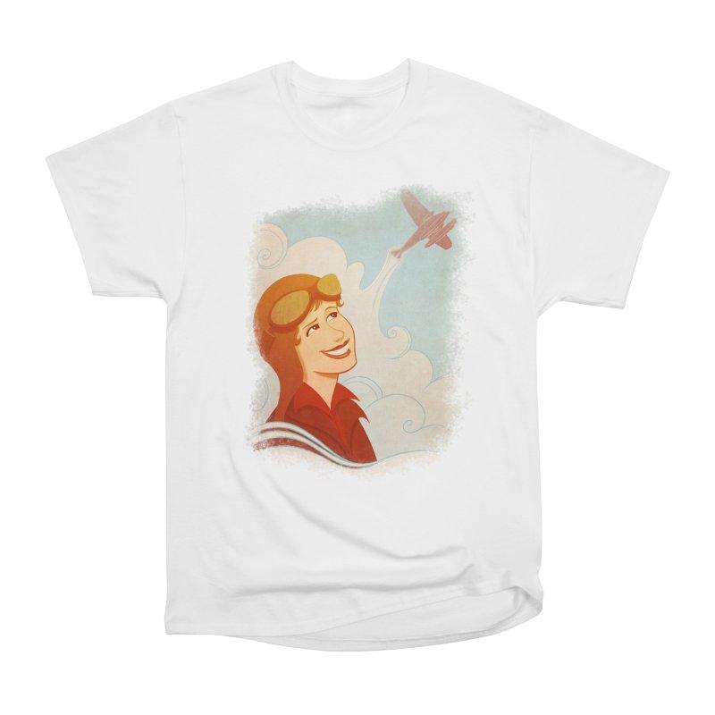 Amelia Men's Heavyweight T-Shirt by satruntwins's Artist Shop