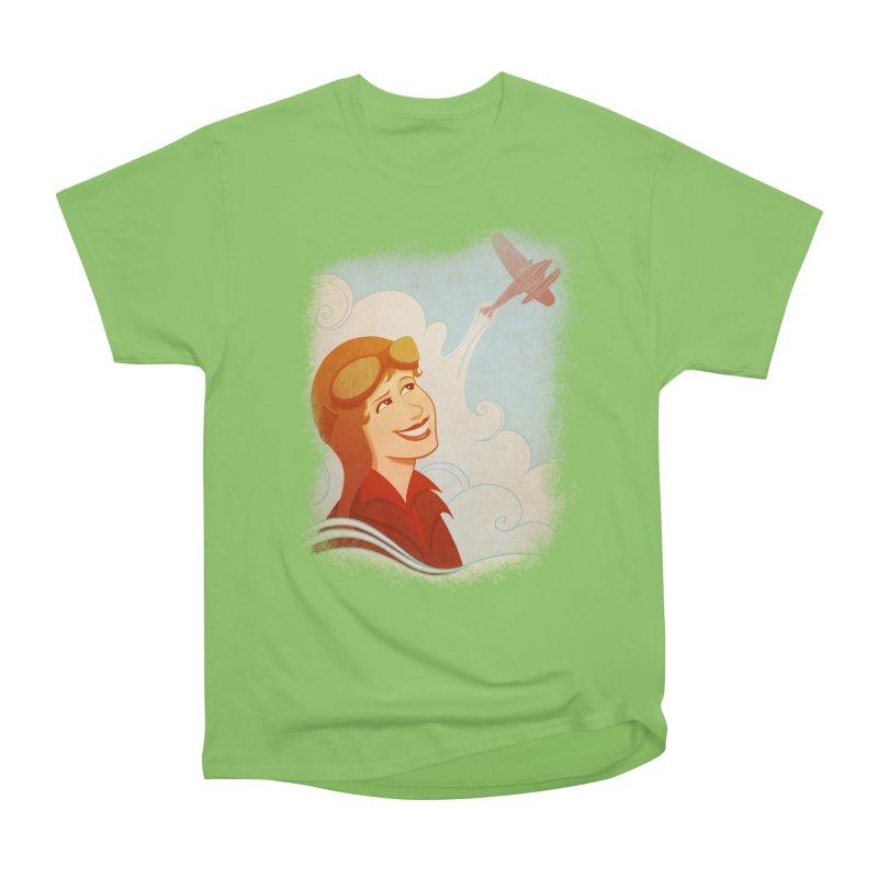 Amelia Women's Heavyweight Unisex T-Shirt by satruntwins's Artist Shop