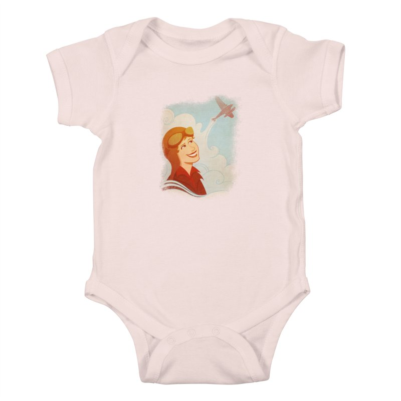 Amelia Kids Baby Bodysuit by satruntwins's Artist Shop
