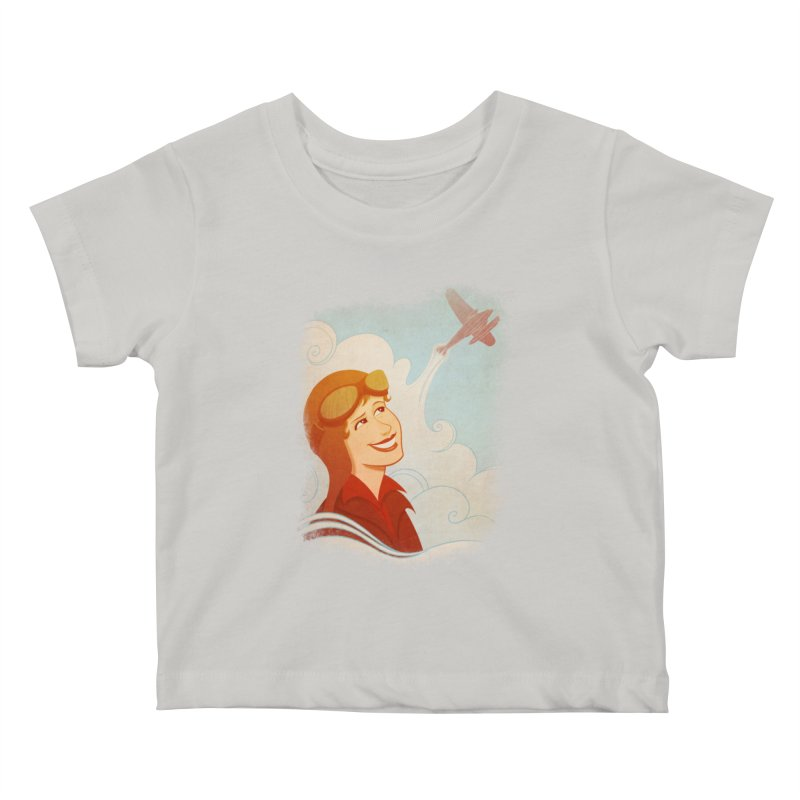 Amelia Kids Baby T-Shirt by satruntwins's Artist Shop