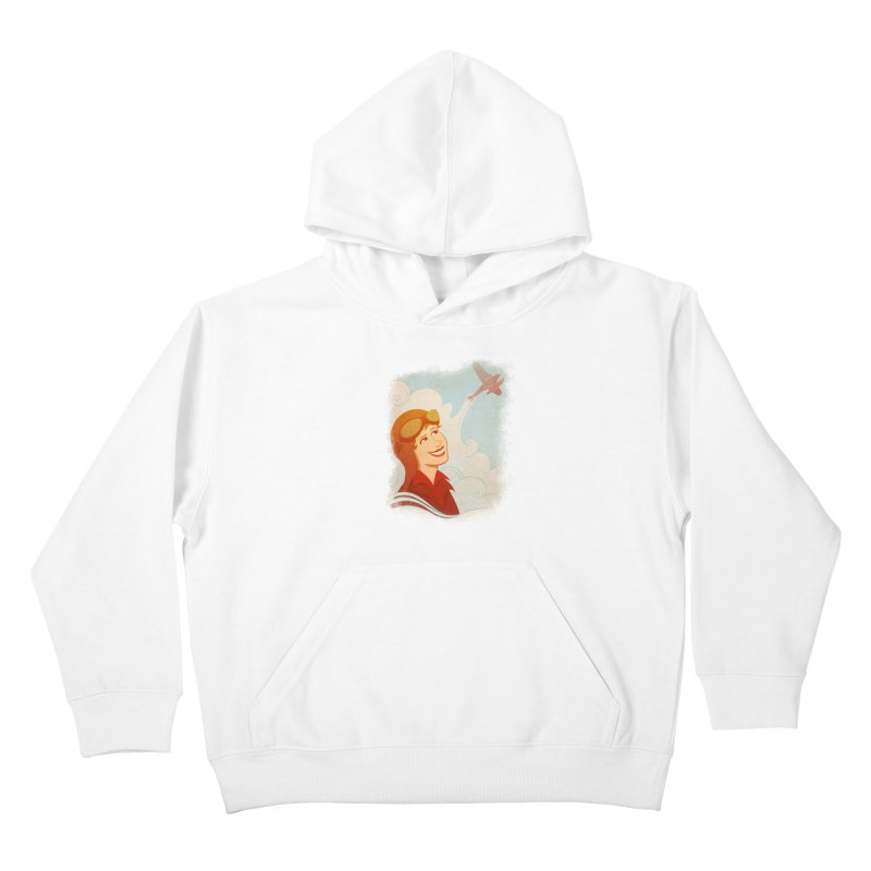 Amelia Kids Pullover Hoody by satruntwins's Artist Shop