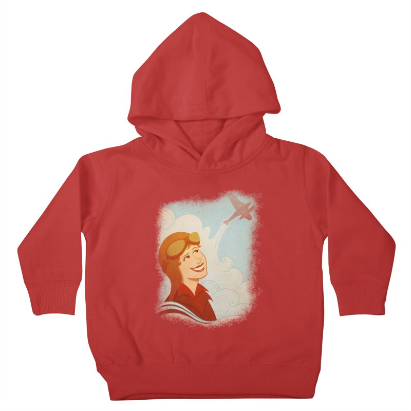 Amelia Kids Toddler Pullover Hoody by satruntwins's Artist Shop