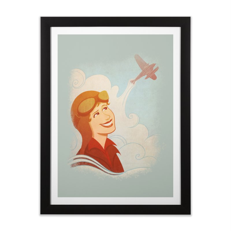 Amelia Home Framed Fine Art Print by satruntwins's Artist Shop