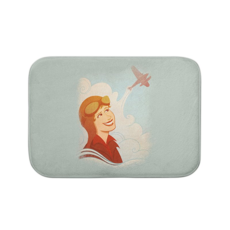 Amelia Home Bath Mat by satruntwins's Artist Shop