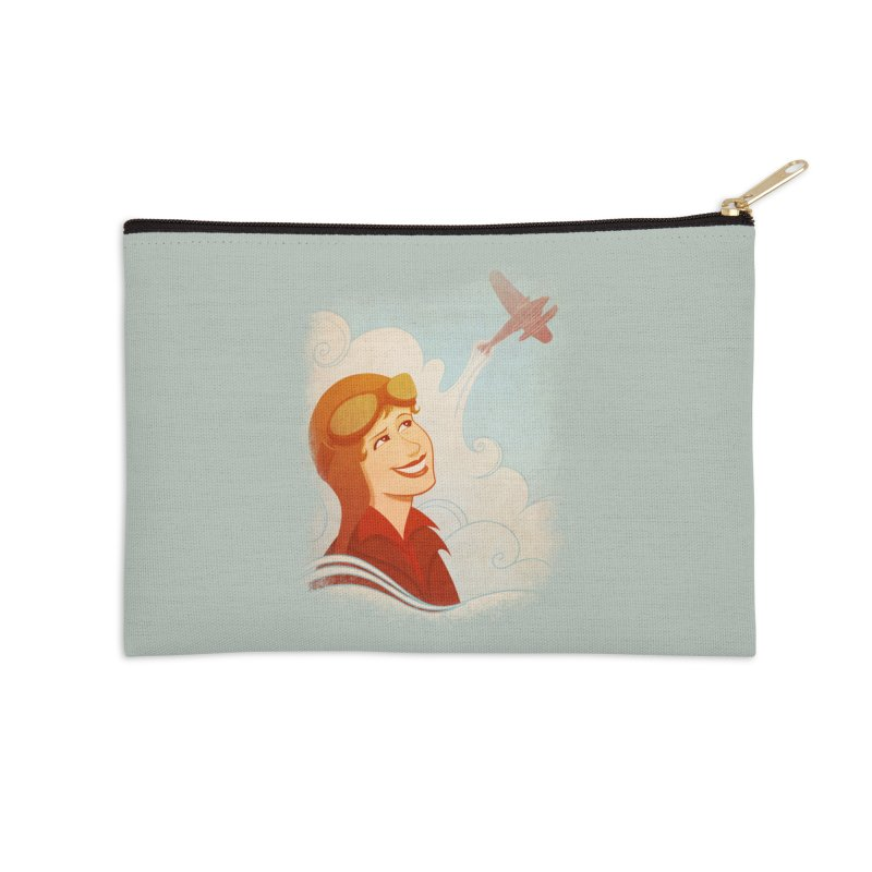 Amelia Accessories Zip Pouch by satruntwins's Artist Shop