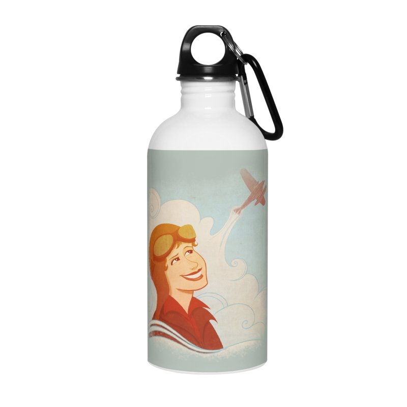 Amelia Accessories Water Bottle by satruntwins's Artist Shop