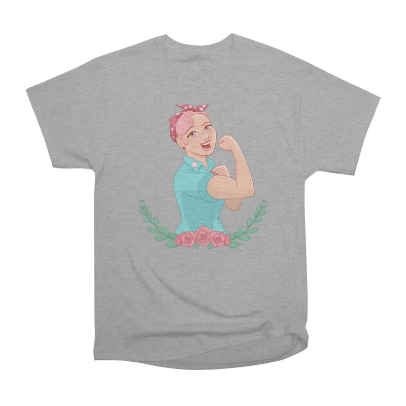 Pink Rosie Women's Classic Unisex T-Shirt by satruntwins's Artist Shop