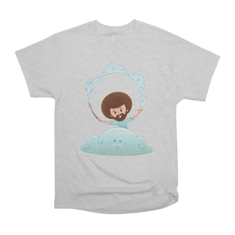Happy Clouds! Men's Heavyweight T-Shirt by satruntwins's Artist Shop