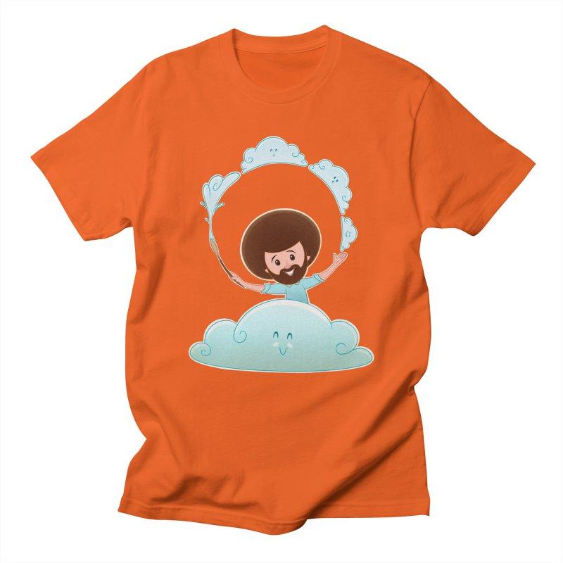 Happy Clouds! Men's T-Shirt by satruntwins's Artist Shop