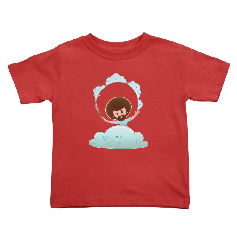 Happy Clouds! Kids Toddler T-Shirt by satruntwins's Artist Shop