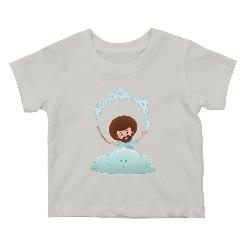 Happy Clouds! Kids Baby T-Shirt by satruntwins's Artist Shop