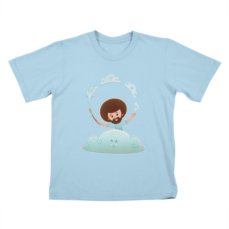 Happy Clouds! Kids T-Shirt by satruntwins's Artist Shop