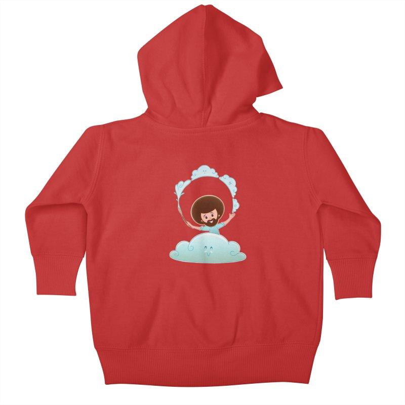 Happy Clouds! Kids Baby Zip-Up Hoody by satruntwins's Artist Shop