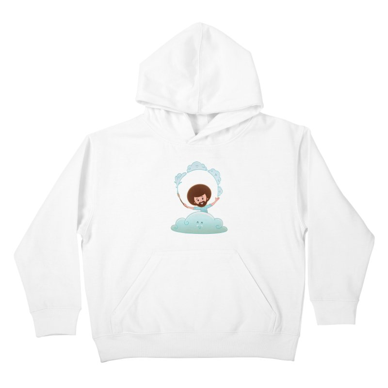 Happy Clouds! Kids Pullover Hoody by satruntwins's Artist Shop