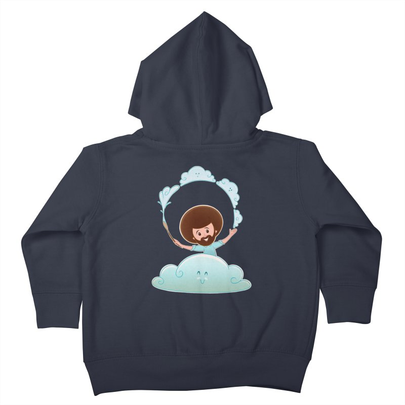 Happy Clouds! Kids Toddler Zip-Up Hoody by satruntwins's Artist Shop