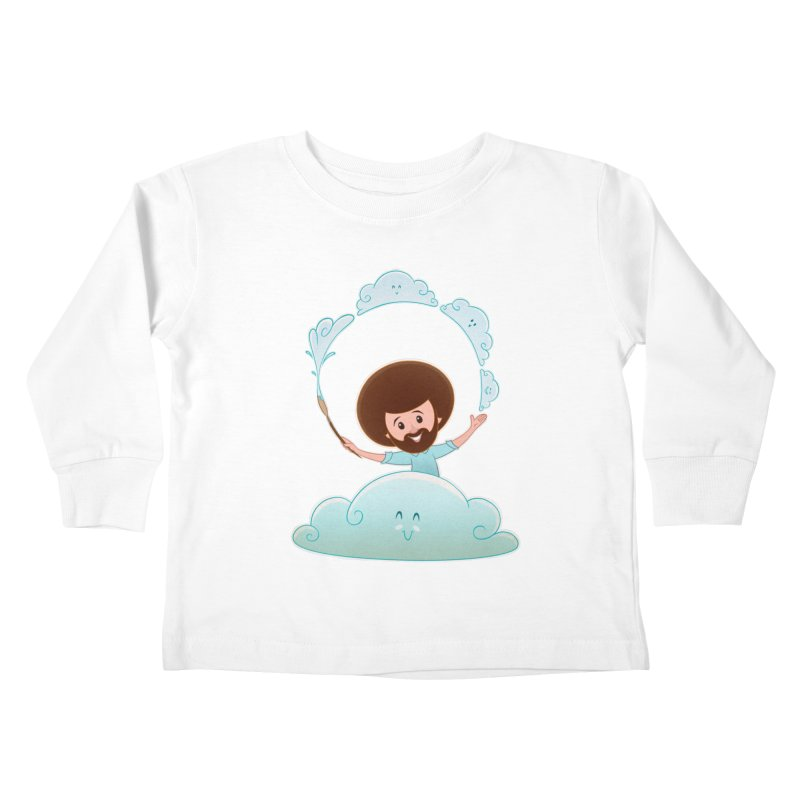 Happy Clouds! Kids Toddler Longsleeve T-Shirt by satruntwins's Artist Shop