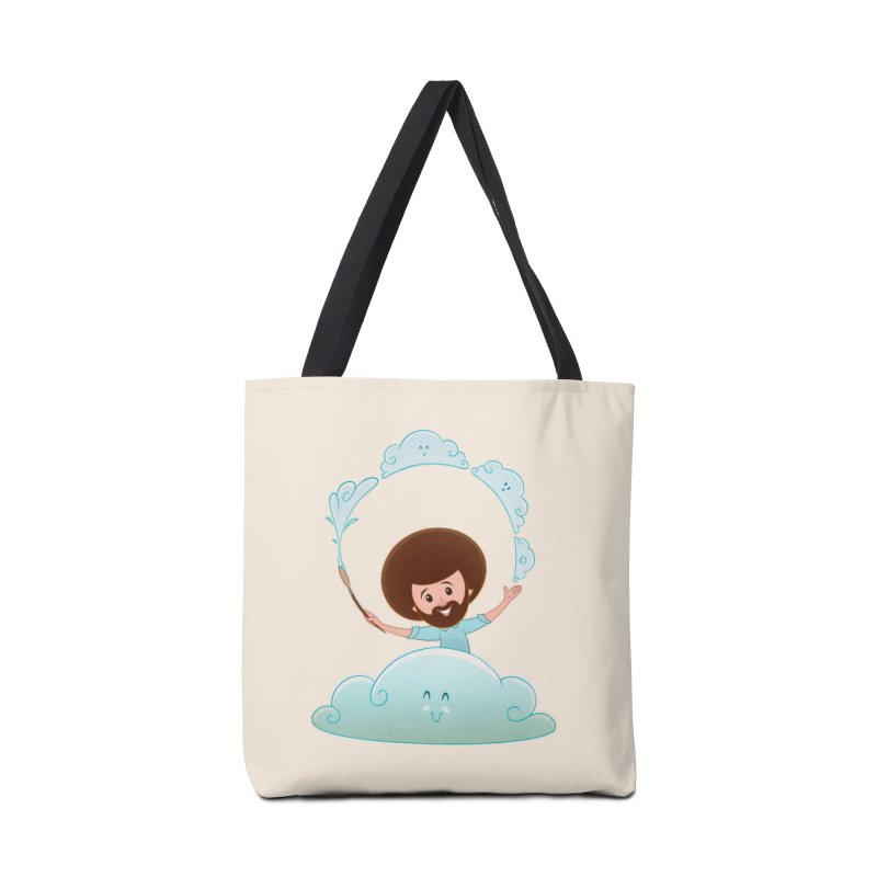 Happy Clouds! Accessories Bag by satruntwins's Artist Shop