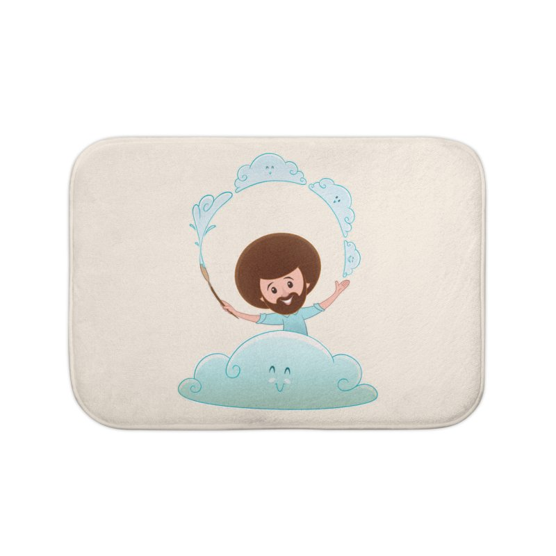 Happy Clouds! Home Bath Mat by satruntwins's Artist Shop