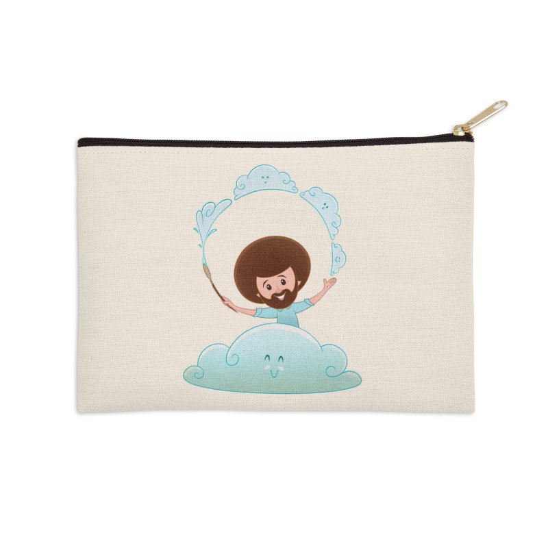 Happy Clouds! Accessories Zip Pouch by satruntwins's Artist Shop
