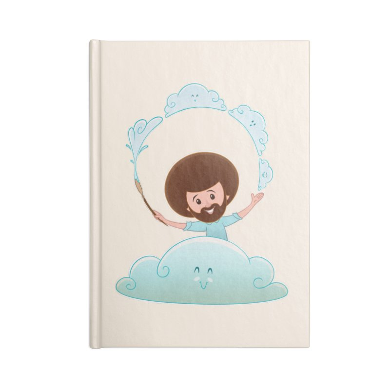 Happy Clouds! Accessories Notebook by Saturn Twins