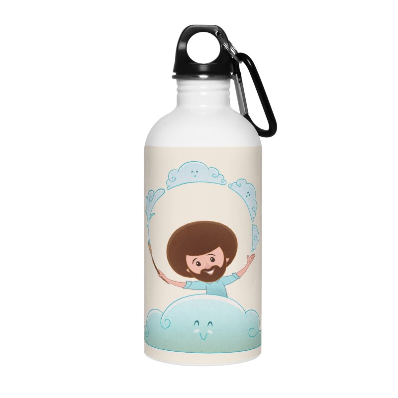 Happy Clouds! Accessories Water Bottle by satruntwins's Artist Shop