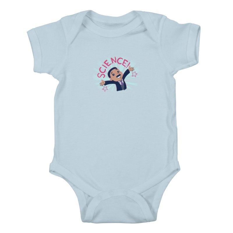 Science! Kids Baby Bodysuit by satruntwins's Artist Shop