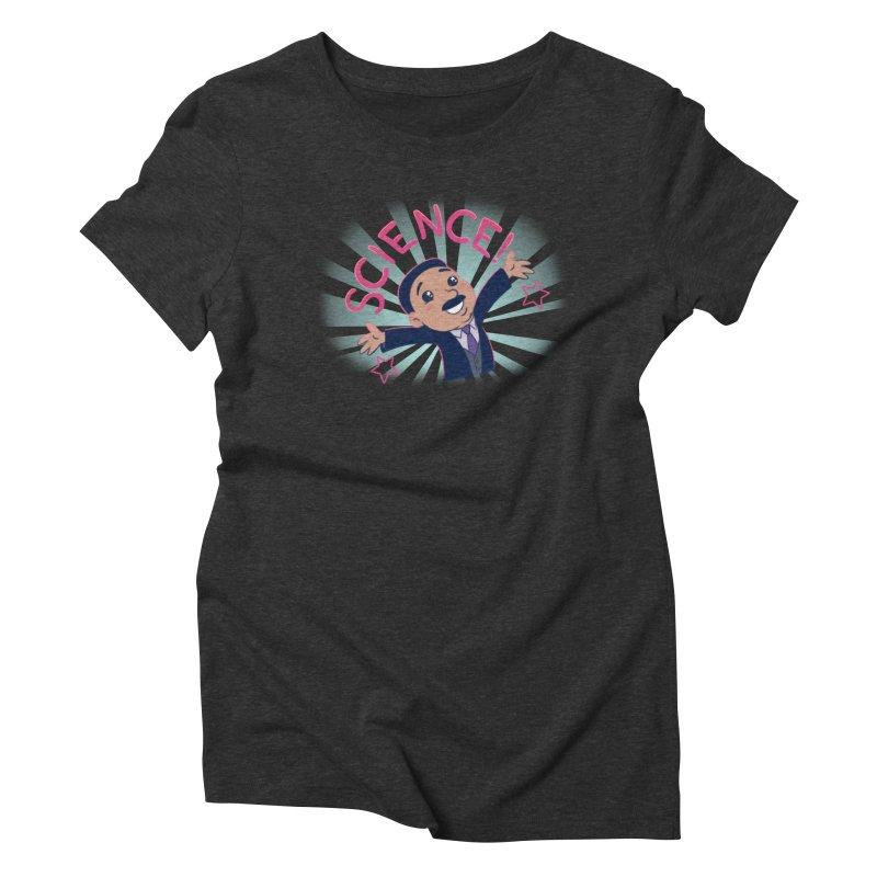 Science! Women's Triblend T-Shirt by satruntwins's Artist Shop