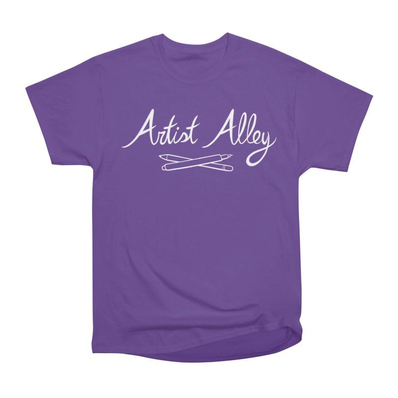 Artist Alley Men's Heavyweight T-Shirt by satruntwins's Artist Shop