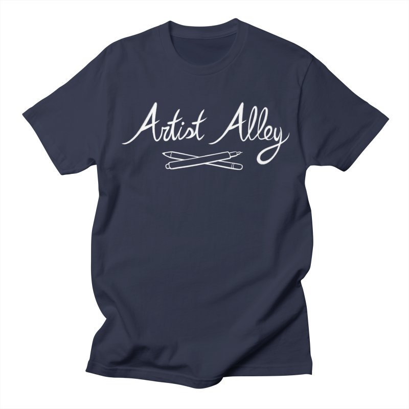 Artist Alley Women's Unisex T-Shirt by satruntwins's Artist Shop