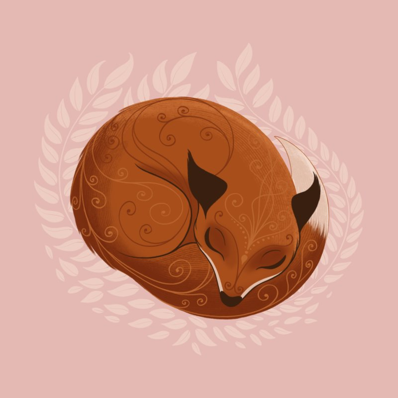 Sleeping Fox by satruntwins's Artist Shop