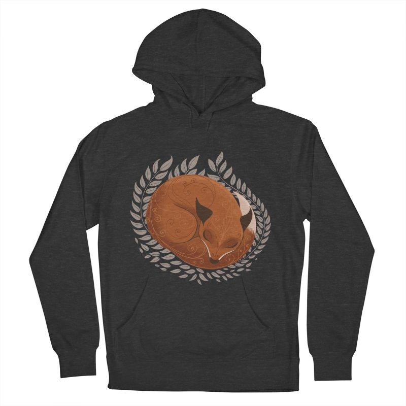 Sleeping Fox Men's Pullover Hoody by satruntwins's Artist Shop