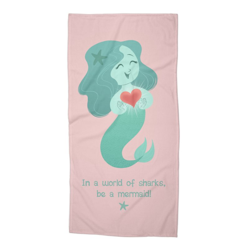 Be a mermaid! Accessories Beach Towel by satruntwins's Artist Shop