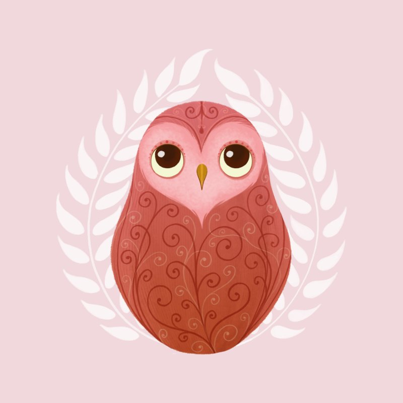 Pink Owl None  by satruntwins's Artist Shop