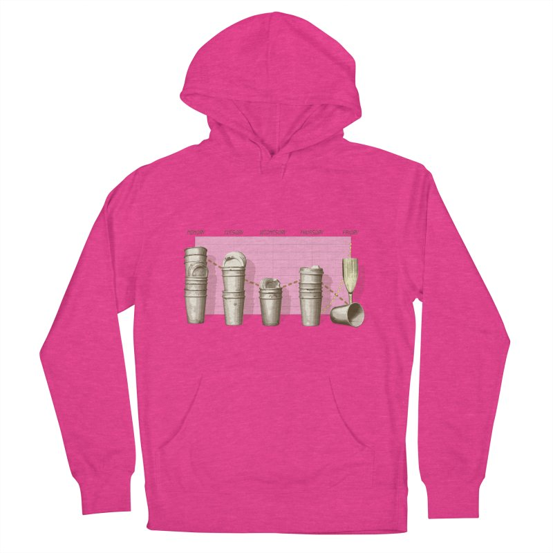 The Latest Office Stats are in … Women's French Terry Pullover Hoody by Satta van Daal