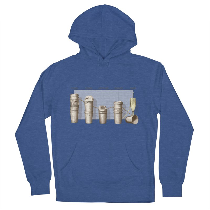 The Latest Office Stats are in … Men's French Terry Pullover Hoody by Satta van Daal