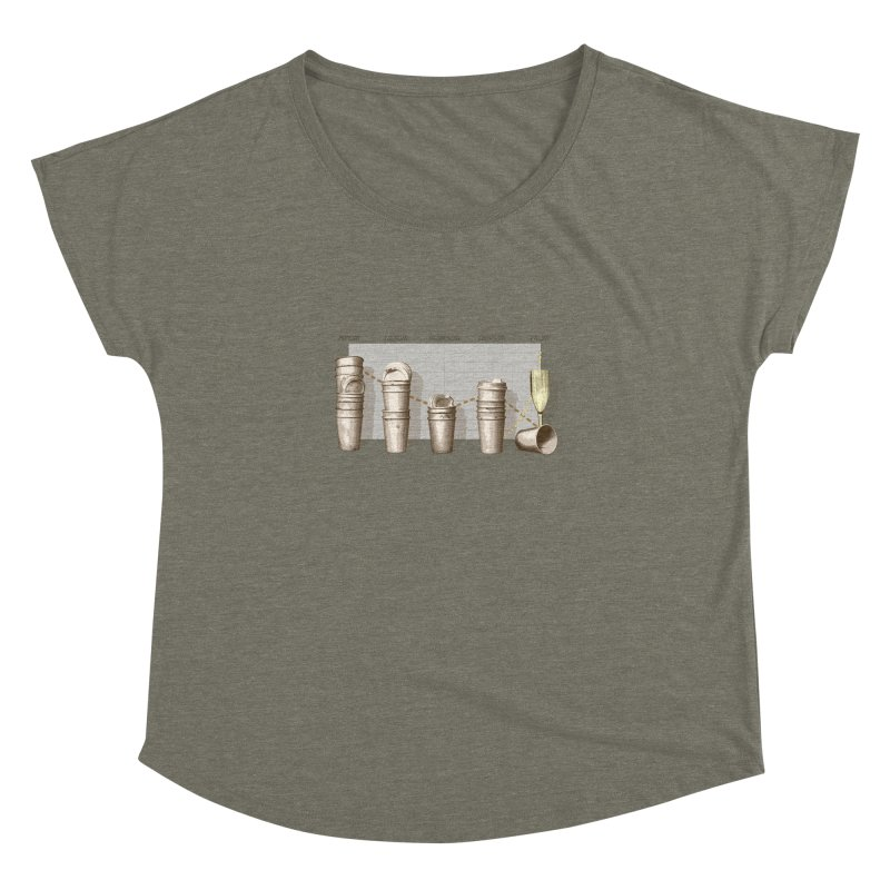 The Latest Office Stats are in … Women's Dolman Scoop Neck by Satta van Daal
