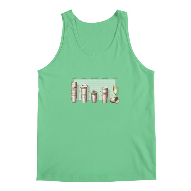 The Latest Office Stats are in … Men's Regular Tank by Satta van Daal