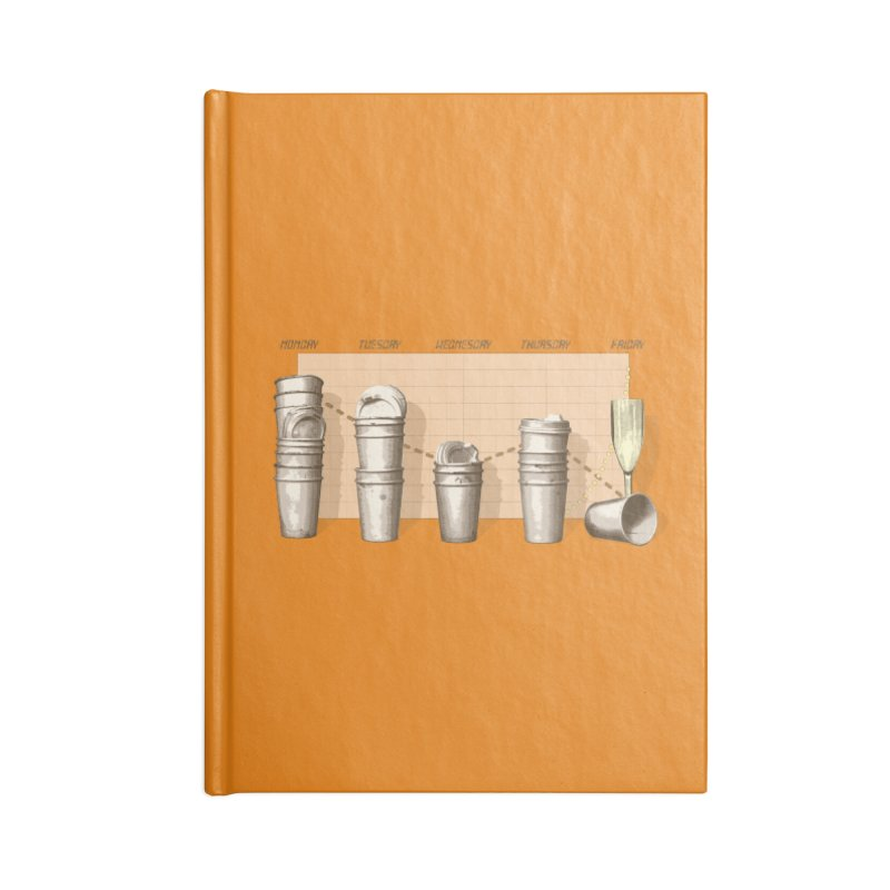 The Latest Office Stats are in … Accessories Blank Journal Notebook by Satta van Daal
