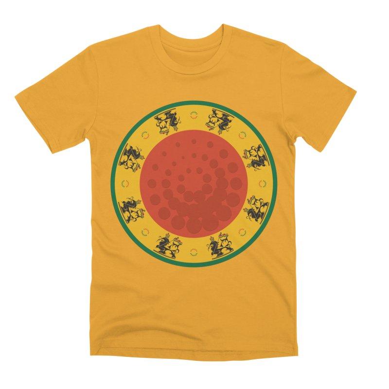 Lions Men's Premium T-Shirt by Satta van Daal