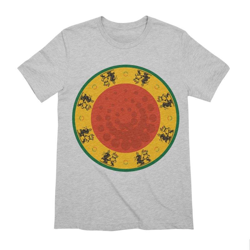Lions Men's Extra Soft T-Shirt by Satta van Daal