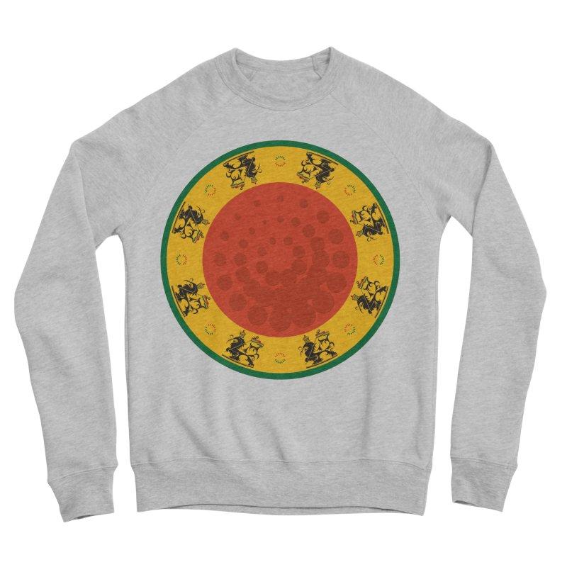 Lions Men's Sponge Fleece Sweatshirt by Satta van Daal