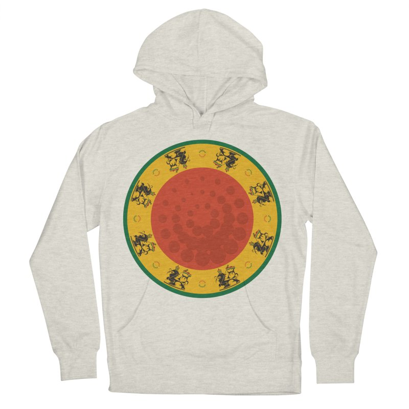 Lions Men's French Terry Pullover Hoody by Satta van Daal